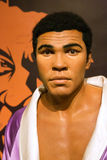Mohammed Ali, born Cassius Clay, at Madame Tussaud Royalty Free Stock Photos