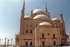 Mohammed ali. The historic mohammed ali mosque at cairo city in egypt Royalty Free Stock Image