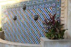 Mohammed Ali Palace - Egito internos foto de stock
