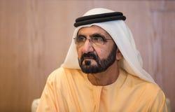 Mohammed bin Rashid Al Maktoum Arkivfoto
