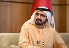 Mohammed bin Rashid Al Maktoum Stock Photos