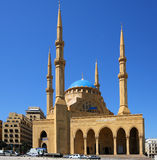 The Mohammed el-Amine Mosque (Beirut-Lebanon). The Magnificent Mohammed el- Amine Mosque in downtown Beirut Stock Images