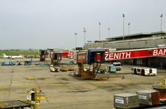 Mohammed Murtala Airport Gates royalty-vrije stock afbeelding