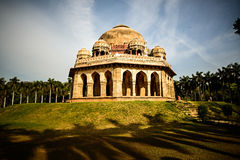 Mohammed Shah's Tomb in Lodi Gardens Royalty Free Stock Photo