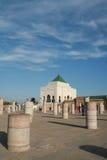 Mohammed V mausoleum, Rabat royaltyfria foton