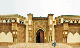 Mohammed V Mosque. Agadir city morocco Mohammed V Mosque entrance landmark architecture Royalty Free Stock Image