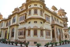 Mohatta-Palast - schöner Markstein in Clifton Karachi lizenzfreie stockbilder