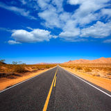 Mohave desert by Route 66 in California USA Stock Image
