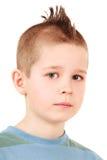 mohawk стиля причёсок мальчика Стоковая Фотография