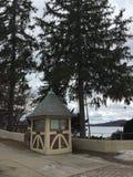 Mohawk de House By Lake do protetor Imagens de Stock Royalty Free