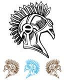 Mohawk Helmet Stock Images