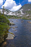 Mohawk Lake. At over 11000 feet in elevation, south of Breckenridge, Colorado Royalty Free Stock Photo