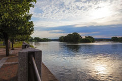 Mohawk River View stock image