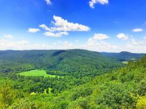 Mohawk trail mountain top Stock Photography