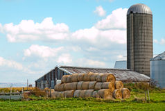 Mohawk valley farm Royalty Free Stock Image
