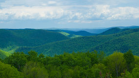 Mohawk Valley. A view over the Mohawk valley Stock Photos
