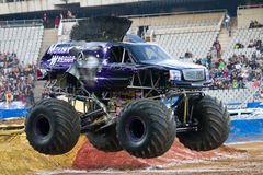 Mohawk Warrior Monster Truck Royalty Free Stock Photo