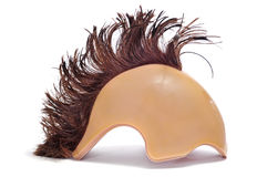 Mohawk wig Stock Photo