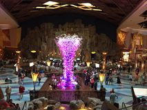 Mohegan Sun Casino & Hotel in Connecticut. USA. It is one of the largest casinos in the United States with 364,000 square feet of gaming space Royalty Free Stock Images