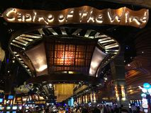 Mohegan Sun Casino & Hotel in Connecticut. USA. It is one of the largest casinos in the United States with 364,000 square feet of gaming space Stock Image