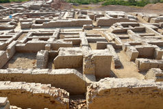 Mohenjo Daro. In Sindh province,Pakistan Royalty Free Stock Images