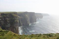 Moher,爱尔兰美丽的峭壁  库存图片