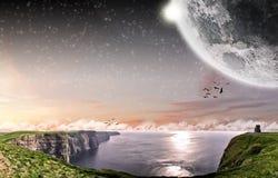 moher Ирландии скалы Стоковая Фотография RF