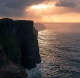 moher Ирландии скал Стоковые Изображения RF