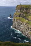 Скалы Moher - графство Клара - Ирландия Стоковое фото RF