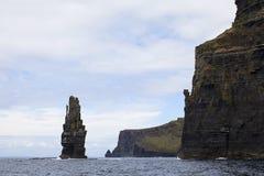 moher de l'Irlande de falaises Photographie stock