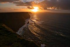 moher de l'Irlande de falaises Photos libres de droits
