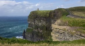 moher de l'Irlande de falaises Photo stock