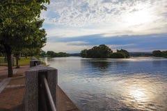 Mohikaner-Fluss-Ansicht Stockbild
