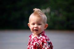 Mohikaner-Junge Stockfoto