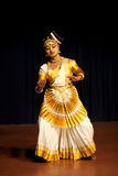 Mohiniyattam classical dance in Kerala, South India Stock Photography