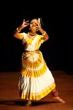 Mohiniyattam dance in Cochi, India Stock Images