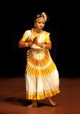 Mohiniyattam (Dance of enchantress) performer Stock Image