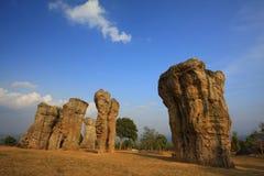 Mohinkhao Stone. At Chaiyaphum province thailand stock image