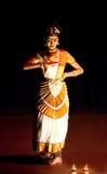 Mohinyattam Tanz in Indien Lizenzfreie Stockfotos