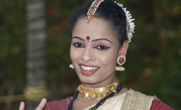 Mohinyattan Dancer Royalty Free Stock Image