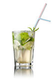 Mohito cocktail isolated on white Stock Image