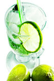 Mohito and lime Stock Image