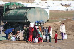 Mohmand Refugee Camp Stock Image