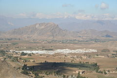 Mohmand Refugee Camp. In the North Western Frontier region of Pakistan Royalty Free Stock Images