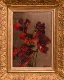 Mohnblumen durch Eugene Delacroix lizenzfreie stockfotografie