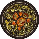 Mohnblumen gemalt stockbild