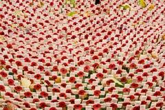 Mohnblumen am Westminster Abbey auf Erinnerung Sonntag Lizenzfreies Stockbild