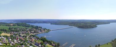 Mohne reservoir in Germany Stock Photography