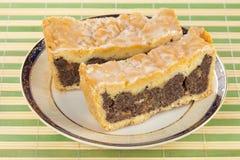 Mohnkuchen Stockfoto