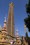 Mohnyin Thambuddhei Paya - Monywa -缅甸 免版税库存照片